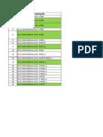 Inspection Sheet 1