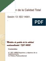 Sesión 13.-ISO 14001