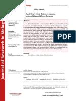 Phenol and Heavy Metal Tolerance Among Petroleum Refinery Effluent Bacteria