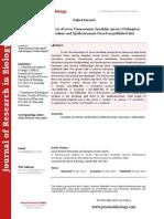 A Chromosomal Analysis of Seven Cameroonian Acrididae Species (Orthoptera Acridinae, Oedipodinae and Spathosterninae) Based on Published Data