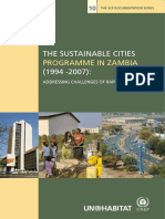 The Sustainable Cities Programme in Zambia (1994-2007)