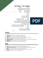 4cs crossword key