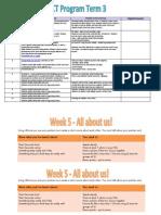 ict program - term 3