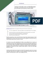 Cómo Encontrar Un Buen Autoradio Coche Con Radio Bluetooth AUX in USB SD GPS Para Ford Tourneo Connect 2010