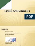 Lines and Angles i