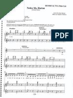 Seussical-Notice Me Horton-SheetMusicDownload (1)