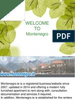 Provide apartments montenegro