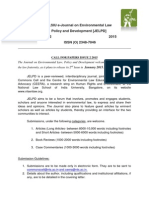 Call for Papers Jel Pd