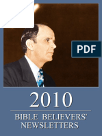 Bible Believers' Newsletters 2010