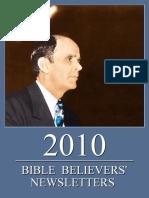 Bible Believers' Newsletters 2010