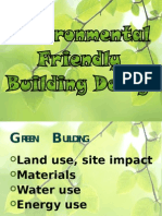 Environmental Friendly Building Design