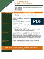 """Mercoledì 16 luglio 2014 """"Porte aperte all'Università di Pavia"""""""