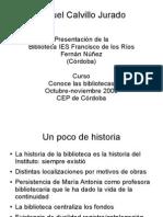 Biblioteca  IES Francisco de los Ríos