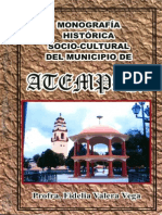 Monografía Histórica y Socio Cultural Del Municipio de Atempan