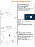 Gunter Brewer Vertical Passing Concepts