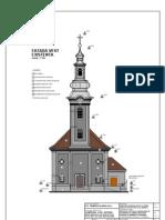 Biserica Bob Fatade_recover2-A15 Fatada VEST Existenta
