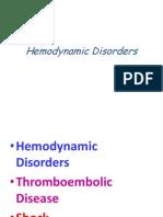 Hemodynamic disorders1
