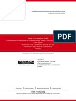 2006_ La Sostenibilidad en El Desarrollo de La Vivienda Informal. Analisis a Artir Del Estudio Del Habitad Del Barrio