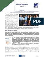 Provide Newsletter June 2014.