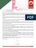 Carta Equipo Madina