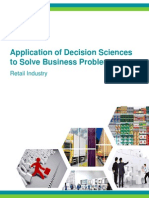 Application of Decision Sciences to Solve Business Problems_Marketelligent