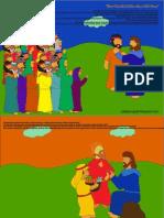Cerita Bergambar Yesus Memberi Makan Lima Ribu Orang