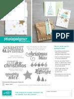US Flyer Photopolymer Christmas Bliss 0714