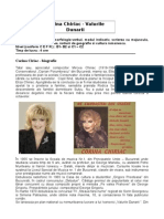 VALURILE DUNARII - Cantante Corina Chiriac