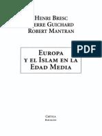 Bresc Europa y El Islam en La Eda Media