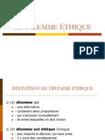 Le dilemme éthique