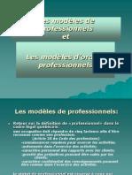 Modèles de professionnels
