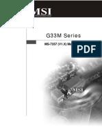 MSI G33 7357v1.0(G52-73571X2)