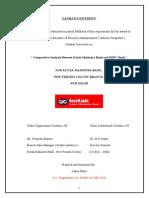 Project on Kotak Mahindra Bank