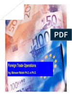 Foreing Trade Operations