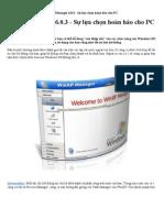 WinXP Manager 6.0.3 - Sự lựa chọn hoàn hảo cho PC