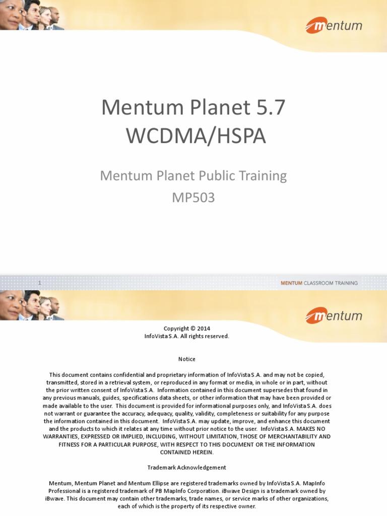 mentum planet 5 7 wcdma high speed packet access monte carlo method rh scribd com