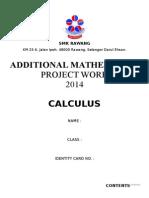 Add Maths Project Work 2014 ( SELANGOR )
