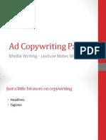 Ad Copywriting Part 2