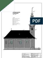 Biserica Bob_f-A14 Fatada NORD Existenta