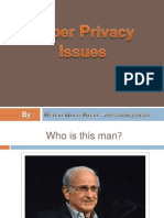 Cyber Privacy Issues