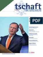 Wirtschaft in Bremen 07/2014 - Wirtschaftsempfang