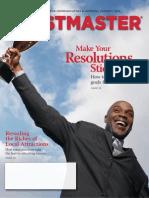Toastmaster January 2014