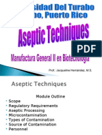 Aseptic Techniques Mfg II