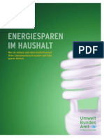 Energiesparen Im Haushalt Publikation