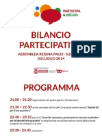Report Quartiere Regina Pacis- S. Donato 03 luglio 2014