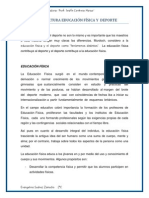 2.- Reporte de Lectura (Educ. Fisica y Deporte)
