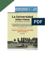 La Universidad Interviene en Los Debates Nacionales