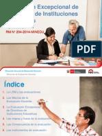 Evaluacion Excepcional Directivos 2014 Ccesa