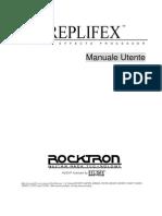 Manuale Roktron Replifex ITA