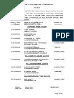 Excise & Taxation Insp. (Rawalpindi) 11D2013